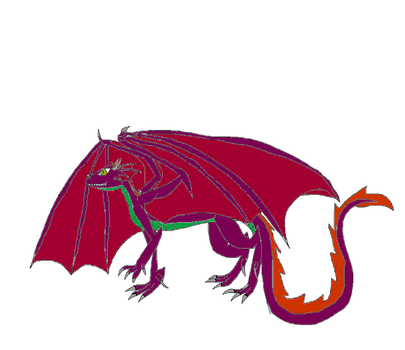 Attor the purple dragon by deeznuts300