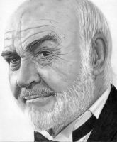 Sir Sean Connery by YALIM1907