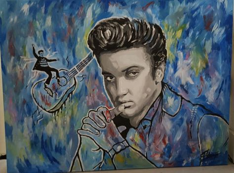 Elvis presley by SteefLess