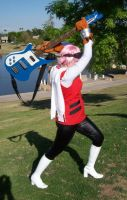 Haruko FLCL cosplay - Attack by Emmalyn