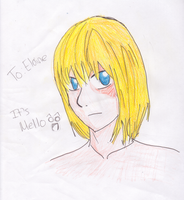 Mello for Elaine :D by sad-little-riceball5