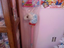 Sailor Moon Pegasus Stick by Super-Moogles