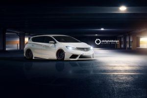2015 Nissan Pulsar Modified Garage Wallpaper by akdigitaldesigns
