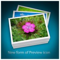 New form of PREVIEW icon by D1m22