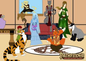 Pathfinder caracter gathering by kittypetro