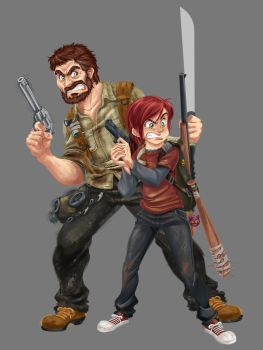 ilustra do Game - The Last of Us - concept by leandrotitiu