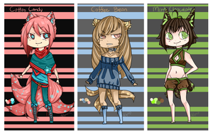 [SOLD OUT] Stardust Chibidoptables - $5 adopts by Curryruu
