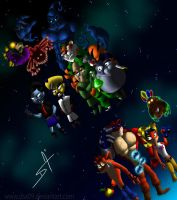 Crash Bandicoot 3rd  generation by DSA09