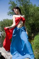 Red and Blue IV by Lniannon-Stock