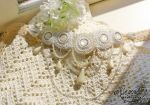 SUNNAVEND bead embroidery choker by willow-yanagi