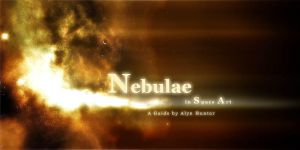 Nebulae in Space Art by alyn