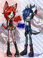 .:Red X Blue:. by DJ-StaaR
