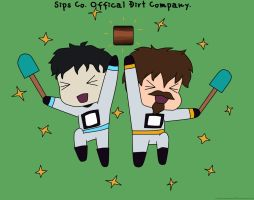Sips Co. Offical Dirt Company by Maddimrw420