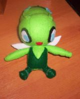 Celebi Plush by 1Meh1