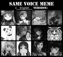 Same Dub Voice Meme #2 Cristina Vee by MHUltimate2013DW