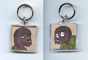 Commission - Keychain Bojan by Viccinor