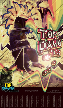 Top Dawg Street Poster by sketchdamn