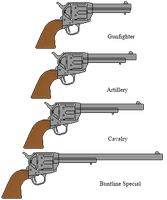 Colt Single Action Army by DaltTT