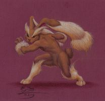Lopunny by Paperiapina