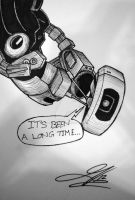 GLaDOS by The-Great-Geraldo