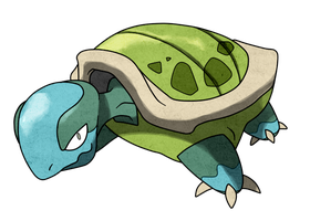 GS beta turtle by Pokemon-Diamond