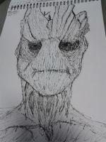 I AM GROOT! by ArchiFrancis