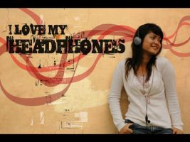 my headphones by tegar26