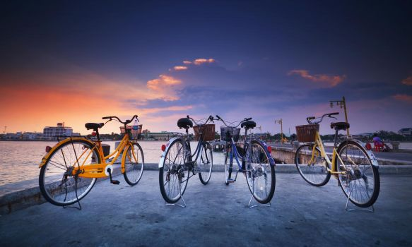 Bikes by comsic