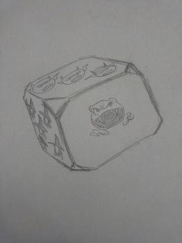 Dice idea, raw by ahabicher