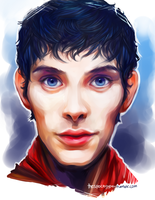 Merlin by StarshipSorceress