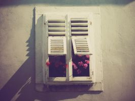 Seaside window by TurquoiseGrrrl