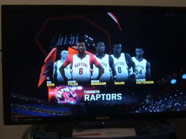 NBA2K11 Toronto Raptors Starting 5 by werewolf85