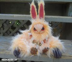 Pia baby Owlbear doll by missmonster
