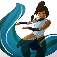 Korra Time by CrescentMarionette