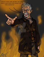 John Hurt's Doctor Who by GingerBaribuu