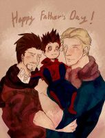 The Avengers : Happy Father s Day by fujimot0