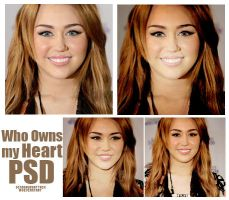 Who onws my Heart psd by Dinosaursattack