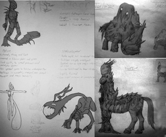 Moor Sketch Collection by Werdnairon