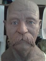 Likeness Sculpture by monkeythe13th