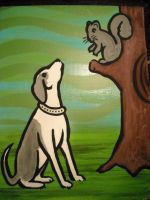 Dog and Squirrel I Wish Book by chrispjones