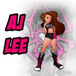 AJ Lee by VixToons-Design