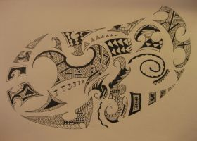 Maori Tribal by ScribblingTend