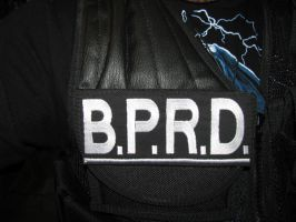 BPRD Tactical Patch by tk8247