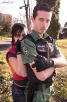 CHRIS REDFIELD 12 by nemesisdarkside