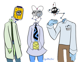 Scientists by AgentBlackBlood