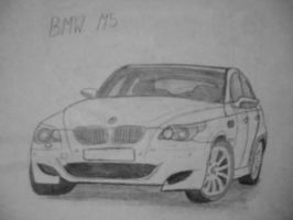 BMW M5 [Car drawing] by Danchix