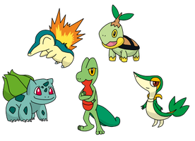 Favorite starter pokemon by Staceyk93
