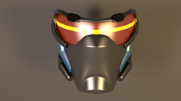 Soldier 76 Overwatch Mask 2 by GexANIMATOR