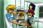 When Kaiba Isn't Home by xOsaPx