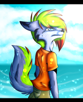 .:Collab:. Sunny day by BlackLightning95